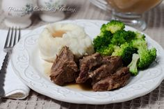 A tender, juicy pot roast cooks in the pressure cooker in less than half the time it would take in the oven or on the stove top.