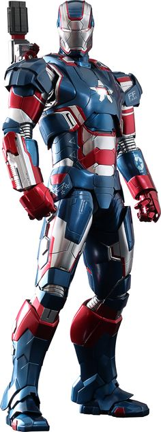 Marvel Iron Patriot Sixth Scale Figure by Hot Toys | Sideshow Collectibles
