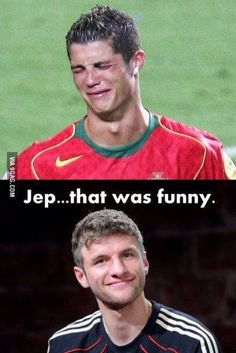 Thomas Müller und Ronaldo