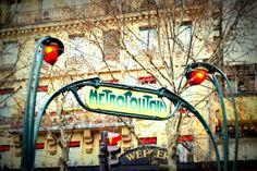 Paris Metropolitain  FIne Art Photograph by BoguslawaBargiel, €16.00