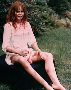Pin by Melissa DePasquale on Horror & Halloween in 2019 Horror Movie Characters, Best Horror Movies, Horror Films, Scary Movies, Slasher Movies, Pasteles Halloween, The Exorcist 1973, Linda Blair, Famous Monsters