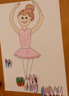 Ballerina Party - pin the point shoe on the ballerina & more!