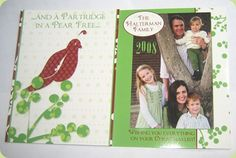 Partridge in a Pear Tree - Christmas Card Idea