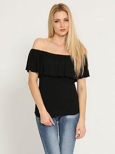 Μπλούζα με βολάν μόνο 6.00€ #moda #style #fashion
