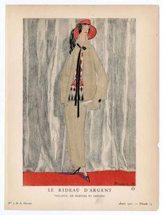 Women 1922, Plate 026 :: Costume Institute Fashion Plates
