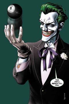 The Joker's last laugh/8 Ball.
