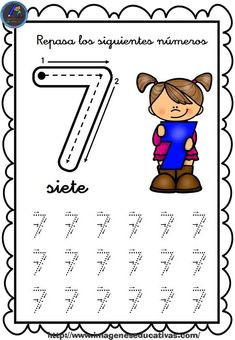 1 to 30 Numbers Line Study - Preschool Children Akctivitiys Shape Worksheets For Preschool, Numbers Preschool, Sensory Activities, Writing Activities, Toddler Activities, Preschool Activities, Primary School, Pre School, Line Study