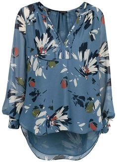 We love a classic button-up but our collection of designer blouses features so much more. We're talking animal print, off-the-shoulder styles and puff sleeves. Floral Tops, Floral Prints, Blouse Designs, Stitch Fix, Stitching, My Style, How To Wear, Outfits, Shopping