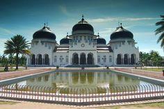 Banda Aceh's Grand Mosque - Indonesia