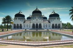 Banda Aceh's Grand Mosque - Indonesia