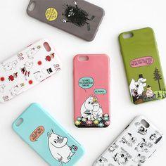 Genuine Moomin Soft Case iPhone 6 Case 6 Types TPU Case made in Korea #Moomin