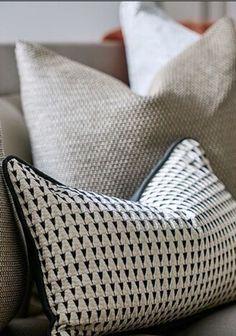 Cute Pillows, Diy Pillows, Sofa Pillows, Throw Pillows, Scatter Cushions, Decorative Cushions, Sofa Design, Pillow Design, Upholstery Cushions