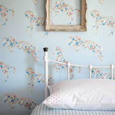 Little Sanderson Wallpaper | Pretty Ponies 214035 | ABRACAZOO