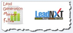 Generate Manage Follow your Leads