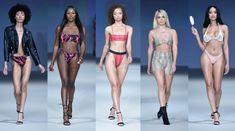 Women's swimwear Sweet Talk Swim on the runway at Style Fashion Week Palm Springs April 2018 Swimsuits, Bikinis, Swimwear, Swimming Outfit, Runway, Sweet, Women, Style, Fashion