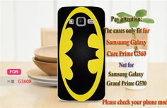 Good Selling Cool Batman Bat Man PC Plastic Phone Cases Covers For Samsung Galaxy Core Prime G3608 G3606 G360 Case Cover Shell