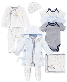 c912571450e First Impressions Baby Boys  Bear Bundle Kids - Sets   Outfits - Macy s