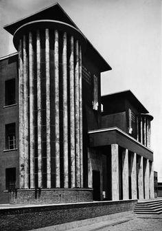 Colonia Rosa Maltoni Mussolini, Calambrone, Pisa, Angiolo Mazzoni, 1925-31 (Source: cesar-e