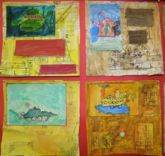 Shaun Tan inspired artworks by 8 year olds Shaun Tan, Arts Integration, Play Based Learning, Projects For Kids, Art Boards, Art Lessons, 2d, Art For Kids, Literacy