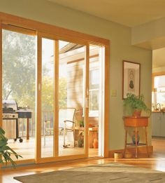 Architect Series Sliding Patio Door Pella Com With Mini
