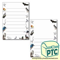 Bird Themed Resources - Primary Treasure Chest Teaching Activities, Teaching Ideas, Page Borders, Letter Sounds, Treasure Chest, Phonics, Britain, Crafts For Kids, Sound Art