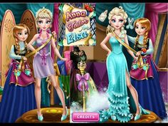 Frozen Anna Tailor For Elsa - Funny Frozen Games