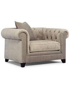Chloe Fabric Velvet Metro Living Room Chair 31W X 36D 34H