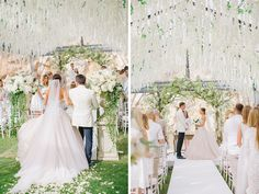 Luxury elegant wedding of Marina Luczenko and Wojciech Szczesny at Athens Greece planned by DePlanV