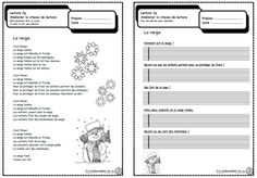 Petits textes pour travailler la lecture et la compréhension en CP Reading Strategies, Reading Activities, Reading Comprehension, Read In French, Learn French, French Teaching Resources, Teaching French, French Flashcards, French Worksheets