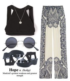 """""""Hope"""" by rose-olh ❤ liked on Polyvore featuring Dion Lee, Dogeared, Etro and Jil Sander Navy"""