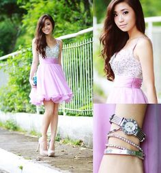 Feeling like a Prom Queen (or a Disco ball) (by Kryz Uy) http://lookbook.nu/look/4016298-Feeling-like-a-Prom-Queen-or-a-Disco-ball