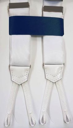 RASO BLANCO SASTRE BLANCO Belt, Accessories, Fashion, Suspenders, Knights, White People, Belts, Moda, Fasion