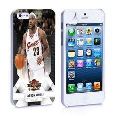 Le Bron James Basket ball card iPhone 4, 4S, 5, 5C, 5S Samsung Galaxy – iCasesStore