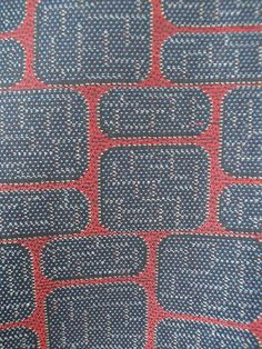 Wool Komon w/ Retro Squares