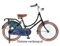 Omafiets Jeans Zwart 20 Inch | bestel gemakkelijk online op Fietsen-verkoop.nl