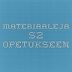 Materiaaleja S2-opetukseen Teaching Aids, Kindergarten, Weather, School, Kids, Languages, Young Children, Idioms, Boys