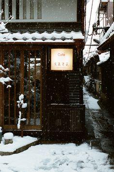 Coffee shop in Japan