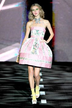Betsey Johnson Spring 2011... If I were in a Betsey Johnson fashion show my life would be complete (as long as I had already been in a Roberto Cavalli show and how I wish I could have been in an original Alexander McQeen show.)
