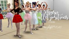 I haven't seen such poses anywhere and I needed them for my sims so here they are. My first poses ever. These are 5 basic ballet positions. My Sims, Ballet Skirt, Ads, Poses, Blog, Fashion, Moda, Fashion Styles, Fasion