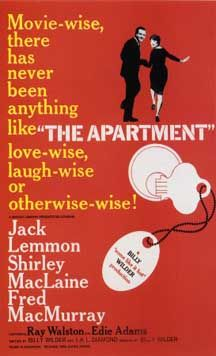 The Apartment, 1960 great movie and great lesson   it always seems to turn out this way doesnt it?