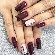 30 Most Popular Nail Art Design 2019 Nail art design is a critical portion of a manicure regimen. You don't have to sulk if you've got short nails ladies! Water marbling nails art ideas isn't a struggle, although it can be a bit messy. Classy Nails, Stylish Nails, Simple Nails, Trendy Nails, French Manicure Nails, Manicure And Pedicure, Diy Nails, Manicure Ideas, Manicures