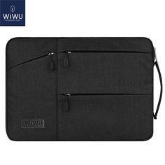 WIWU Waterproof Laptop Bag Case Shockproof Nylon Laptop Sleeve 14 15.6