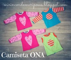mi rincón de mariposas: Camiseta Ona (talla 1) - patrones manga corta/larga y tutorial