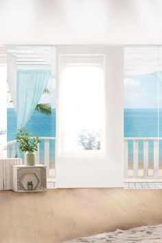 Sliding curtains set - Holiday in Paradise - 6 panel curtains - flat curtains . 6 Panel Curtains, Sliding Curtains, Room Divider Curtain, Curtain Sets, Metal Art, Windows, Holiday, Flowers, Flat