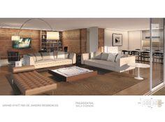 apartamento 360, vista mar - barra da tijuca - Venda - Casas e ApartamentosPerspectiva Ilustrativa