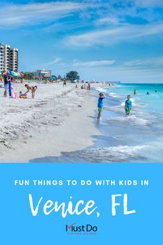 Headed to Venice, Florida with kids? Here's what to do and see for a family-friendly vacation. Florida Vacation Spots, Florida Travel, Florida Beaches, Vacation Ideas, Venice Beach Florida, South Florida, Fort Myers Beach, Day Trips, Weekend Trips