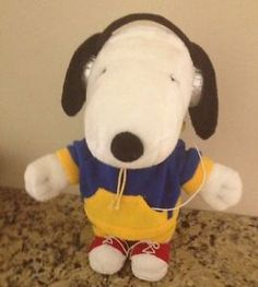 Collectible-Snoopy-Dancing-Doll-Peanuts-MOTION-MUSICAL-PLUSH-TOY-DOLL