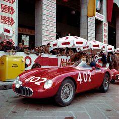 Mille Miglia - Osca BK, Brescia, 1955