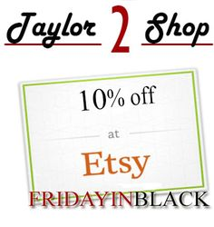 FRIDAYINBLACK all November! DISCOUNT COUPON, Black Friday Coupon Code, November Coupon, 10% off Sale by Taylor2Shop on Etsy https://www.etsy.com/listing/476825134/fridayinblack-all-november-discount