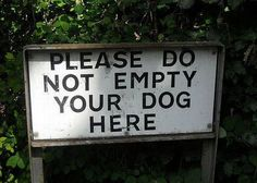 Lots of hilarious stupid signs for clever, humorous people. Feel free to indulge in this collection of really funny pictures of street names, traffic messages etc. A Funny, Funny Posts, Funny Memes, Funny Stuff, Funny Quotes, Dog Stuff, Stupid Quotes, Funny Captions, Quotes